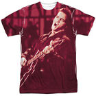 Elvis Presley Scratched '68 Big Print Sublimation Licensed Adult T Shirt
