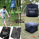 20/40L Litre SOLAR Camping Shower Portable Outdoor Hiking Water Heated Camp Bag