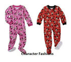 MINNIE MOUSE MICKEY MOUSE 12 18 24 Mo 2T 3T 4T BOYS GIRLS Blanket Sleeper Pjs