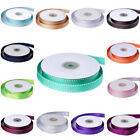 "5/8"" x 25 yds Stiched Grosgrain RIBBON Wedding FAVORS Party Sewing Crafts Supply"
