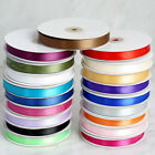 "5/8"" x 50 yards DOUBLE Sided SATIN Ribbon Wedding FAVORS Invitations Decorations"