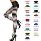 Sexy Opaque Stripe Pantyhose Foot Legging Tights Stocking Sock Hosiery Halloween