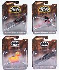 Hot Wheels Batman Batmobile Batcopter Penguins Duck Armoured toys 1:50 scale NEW