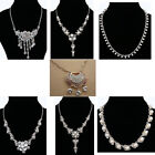 Princess Style&Chinese Kid Amulet Jewelry Crystal Flower Tassel Pendant Necklace