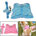 Fashion 2 Colors Pet Dog Adjustable Safety Harness Mesh & Leash Angel Wing N98B