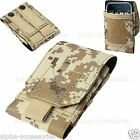 Universal Army Camo Bag For Mobile Phone Belt Loop Hook Cover Case Pouch Holster <br/> For Apple iPhone 6, 5S/5, 4S/4, Galaxy S5, S4, S3, Note