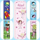 PERSONALISED CHILDRENS BOYS GIRLS HEIGHT CHART Unusual Birthday Christmas Gift