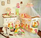 EXCLUSIVE 11 Piece Baby Nursery Bedding Set To Fit Cot   Cot Bed   40 disigns