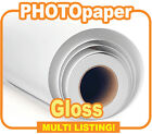 Solvent Photo Paper, Gloss Photographic Paper - 30 meter rolls - 914mm & 1040mm