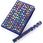 Sequinned small Notebook with matching Pen, hardback, ideal for handbag