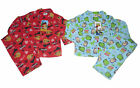 BOYS PYJAMAS DISNEY TOY STORY & JAKE AND THE NEVERLAND PIRATES FLANNEL