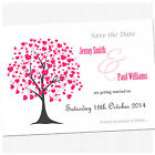 Personalised Save The Date Wedding Cards & Envelopes - SD005