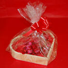 Wooden Heart Shaped Christmas Gift Hamper Kits Three Sizes Choice of Fillings