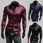 New 2014Collection Mens Sexy Formal Casual Slim-Fit Dress Shirt-All Styles