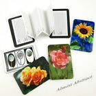 Roses/Flowers Credit Card Sized Magnetic Address Book (Choice of Designs) ~ New