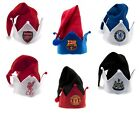 OFFICIAL FOOTBALL CLUB - ELF CHRISTMAS HATS - NEW Santa, Xmas, Decoration, Gift