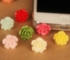 Fab rose look mobile phone dust free charm iphone Uk seller decorate anti dust