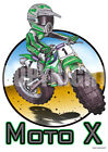 Koolart  Moto X Printed Sticker Decal Toy Box 3028