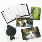 Cats & Kittens Magnetic Address Book Credit Card Sized ~ New