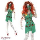 Halloween Fancy Dress # Ladies Zombie Bloody Scrub Nurse Costume Size 8-18