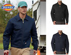 NEW Dickies Adult LINED Eisenhower Jacket uniform work Navy Black S-3XL