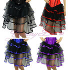 Frilly Skirt Plus Size 6-24 Fancy Dress Burlesque Costume Outfit Tutu Womens