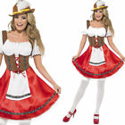 Ladies Bavarian Fancy Dress Costume Oktoberfest German Beer Maid Outfit Smiffys