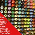 Sewing Machine Thread 1000m Spool Polyester Choice of Colours Top Quality 120