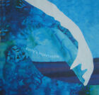 Blue Hawaii OCEAN WAVE Surf~Fabric Quilt Panel Square~ Pipeline Surfer Surfing