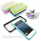 BUMPER CASE COVER FOR SMARTPHONE SAMSUNG APPLE IPHONE SONY + STYLUS + SCREEN P