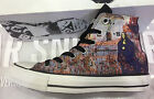 NEW CONVERSE MUSIC CHUCK TAYLOR ALL STAR BLACK SABBATH BLACK MEN SHOES 143185C