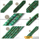 Natural Rondelle Old Turquoise Jewelry Making loose gemstone beads strand 15""