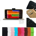 F Wallet Leather Case Stand Cover Purse Pouch Sleeve For Motorola MOTO G XT1032