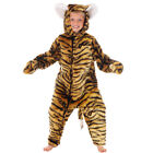 DELUXE TIGER FUR WILD JUNGLE ANIMAL DRESSING UP COSTUME - KIDS FANCY DRESS BOOK