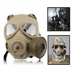 WARGAME COSPLAY Face Gas Mask Protective Gear for Airsoft Paintball Tactical etc