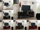 Sideboard Cupboard Cabinet TV Unit LCD Plasma Matt Body and  High Gloss Fronts