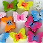 5/20/100 pcs wood flatback/Button lot mixed butterflies craft embellishment DIY