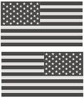 2 American Subdued Flag USA Tactical Military Car Vinyl Decal Sticker Signs