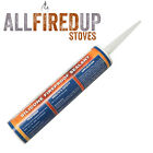 High Temperature Silicone Sealant Heat Resistant to 1200°C, Flues, Stoves, Glass