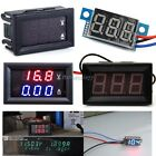 Dual Display LED DC 0-100V 10A Digital Voltmeter Ammeter Panel Amp Volt Gauge It