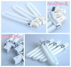 9W White Light Bulb Tube For UV Gel Nail Art Curing Lamp 365nm Dryer Replacement