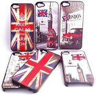 NEW QUALITY APPLE IPHONE 4G/ 5G HARD BACK CASE COVER ENGLAND LONDON, TOWER, FLAG