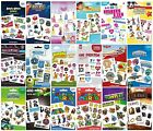 KIDS TATTOO PACKS (Official) Large Range of Themes - Girls & Boys (2 sheets)