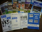 Brighton & HA HOME programmes late 1970's and 80's choose from list FREE UK P&P