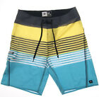 Ripcurl MIRAGE CBO8OG Skate Swim Trunk Stripe Surfing Boardshort SIZE 30-38