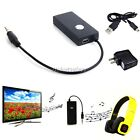 Wireless 3.5mm Stereo Audio Adapter A2DP Bluetooth Dongle Transmitter/ Receiver