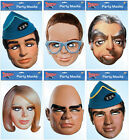 THUNDERBIRDS - LICENSED MASKS - 6 CHOICES + MULTIPACK OPTION & FREE P&P -  F.A.B