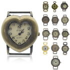 1PC Hot Quartz Watch Face Bronze Tone Mixed