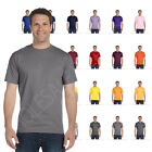 NEW HANES MEN'S SHORT SLEEVES BEEFY T PRESHRUNK COTTON T-SHIRT S-3XL M5180 image