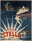 vintage Stella advertisement print poster, large 4 sizes available, Auto 3